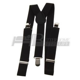 2019 homens laço laço clipes atacado Atacado-1pcs Clip-on Correias ajustáveis unisex calças totalmente elásticas suspensórios Y-back suspensórios