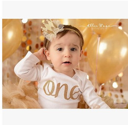Wholesale 12 Tiara - 12 Colors Baby Girls Crown Headband New Cute Bling Elastic Children Headwear New Born Photography Props Lace Hair Accessories 6802