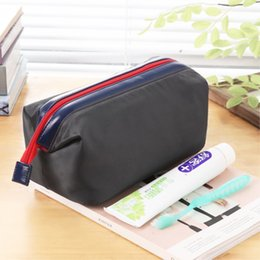 Wholesale Bath Cosmetic Bag - Travel-portable toiletries bag waterproof cosmetic bag man's bath bag bath kit