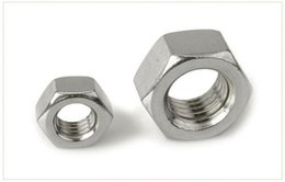 Wholesale M3 Caps - 316 stainless steel six nut six angle nut screw cap M3 M4 M5 M6 M8 M10 M12-M24 free shipping!