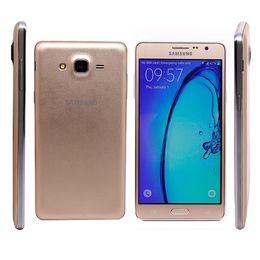"Wholesale Smart Phone 13mp 4g - On7 G6000 Original Samsung Galaxy Refurbished Unlocked 4G-LTE Quad core Dual Sim 5.5"" RAM 1.5G ROM 16GB 13MP Camera Smart Cell Phone DHL"
