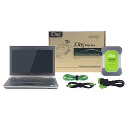 Wholesale Distributor Usb - [JDiag Distributor] Wifi JDiag Elite II Automotive J2534 ECU Tools Diagnostic & Programming Tool With Refurbished E6430 Laptop