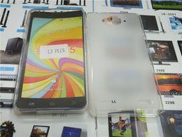 Argentina Caja de TPU para ZTE Blade L3 Plus 5.0 pulgadas PANTALLA Cajas de teléfono con pudín de silicona suave 5 colores envío gratis Suministro