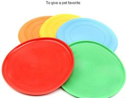 Wholesale Soft Flying Disc Dogs - hot sell Silicone Dog Frisbee Flying Disc Tooth Resistant Soft Puppy Outdoor Pet Dog Play Foldable Training Fun Fetch Toy wn259