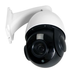 Wholesale Security Camera Outdoor Housings - 1080P H.264 Sony CMOS Onvif P2P Cloud 18x Optical Zoom Surveillance PTZ Camera Security PTZ Camera 80m IR distance metal housing DC12V2A