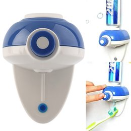Wholesale New Automatic Toothpaste - New Touch Automatic Auto Squeezer Toothpaste Dispenser Hands Free Squeeze out Cheap Price hot selling