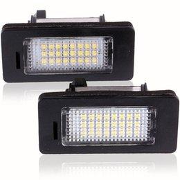 Wholesale Bmw E71 Led - 2Pcs LED License Plate Lights SMD3528 6000K Number Plate Light For BMW E82 E88 E90 E92 E93 E39 E60 Sedan M5 E70 X5 E71 E72 X6 order<$18no tr