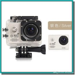 Wholesale Video Camera Brackets - Waterproof WiFi Action Camera +Battery Charger+bracket +Car Charger 1080P SJ7000 Full HD Sports Camera Diving Video Helmet Camcorder Car DVR