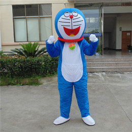 Wholesale Lowest Mascot Prices - lowest price adult doraemon mascot costumes for party on sale good quality free shipping custom made
