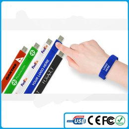 Wholesale Cheap 8gb Usb - China Wholesale Cheap Bracelet Silicone wrist USB 4GB 8GB Memory Stick With Customized LOGO And Free Shipping From China