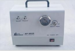 bomba de vácuo livre de óleo Desconto Laboratório portátil bomba de vácuo de diafragma sem óleo AP-9925 25L / m 220V
