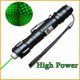 Wholesale Military Lazer - Brand New 1mw 532nm 8000M High Power Green Laser Pointer Light Pen Lazer Beam Military Green Lasers Pen ePacket Free Shipping