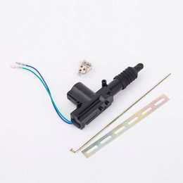 Wholesale Wholesale Motor Dc - Professional Car Auto Heavy Duty Power Door Lock Actuator Motor 2 Wire 12V Universal Auto Locking System Motor