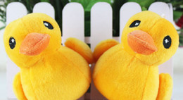 Wholesale toy yellow soft duck - Lo cute Yellow Duck Stuffed Animal Plush Soft Toys Cute Doll