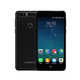 Wholesale Mobile Power Back - LEAGOO KIICAA POWER Android 7.0 Dual Camera Dual SIM Mobile Phone 4000mAh 5.0 Inch MT6580A Quad Core 2GB RAM 16GB Fingerprint Smartphone