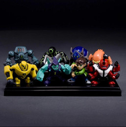 Wholesale Family Goods - 8pcs set 5CM Ben 10 new high quality Protector of Earth Family Action Figures Brinquedos Toys free shipping