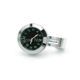 Nuevo estilo de la manera del montaje del manillar de la motocicleta del reloj 22 mm a 25 mm motocicleta scooter bicicleta mango reloj reloj para suzuki honda desde fabricantes