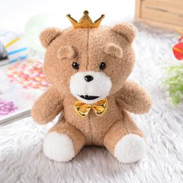 Wholesale Ted Bear Toy Wholesale - 8Inch Teddy Bear Plush Toys for Birthday Present Ted Stuffed Plush Cute Toy Ted Bears peluches Wedding Gifts Christmas gift Free DHL