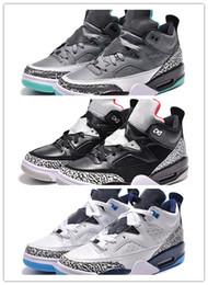 Wholesale Cheap Goods Sale - Sale Air Retro 3.5 Spike Lee Black Cement Blue Gary White Green A Good Quality Man Basketball Shoes Wholesale Sizes US 8 13 Cheap