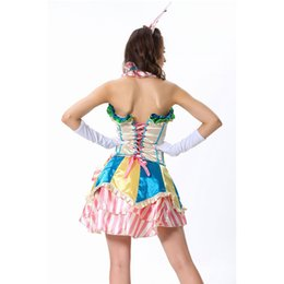 Wholesale Hot Circus - Hot circus clown Halloween sexy cosplay party costumes