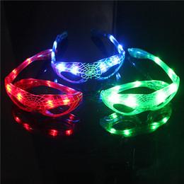 2019 рождественские солнечные очки 8 LED световой ребенок мигающий свет игрушки очки Человек-Паук стиль солнцезащитные очки рождественские подарки с скидка рождественские солнечные очки