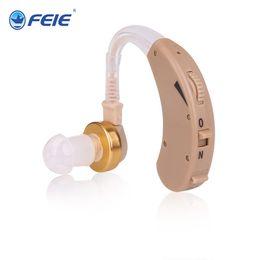 Orelhas ajudas on-line-2019 novo design escondido aparelhos auditivos atrás da orelha Ouvir Dispositivo Som Claro com Longa Vida Da Bateria Controle de Volume transporte da gota S-138