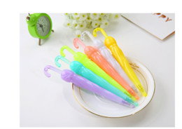 Wholesale Colored Umbrellas Wholesale - Creative candy-colored ballpoint pens Umbrella pens glowing pens