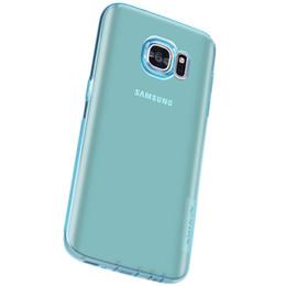 Étui nillkin en Ligne-Livraison gratuite Nillkin Pour Samsung S7 Couleur Transparent Après TPU Cas de Téléphone portable Pour Samsung S7