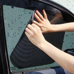 Wholesale Good Quality Curtains - Good Quality Car Styling Covers Sunshade Black Auto Sun Visor Sun Shade Window Suction Cup Car Curtain Auto Sun Shade