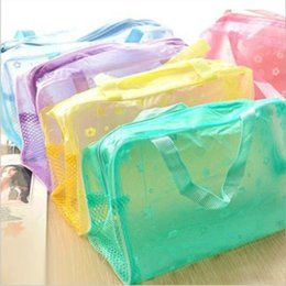 Wholesale Towels Cosmetic Bag - Wholesale- 23*13*9cm Home Storage Bag for The Toothpaste, Towels, Soap, Shampoo,Bath Lotion,Cosmetics.5 color to choose.