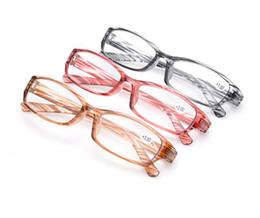 Wholesale dental glasses - Factory Outlet Fashion PC Rack Glasses Strip Double Dental Reading Glasses HD Resin Glasses +1.00+1.50+2.00+2.50+3.00 +3.50 +4.00 20Pcs Lot