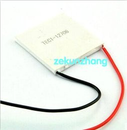 Wholesale New Peltier - 100% New the cheapest price 20pcs TEC1-12706 12v 6A TEC Thermoelectric Cooler Peltier (TEC1 12706)