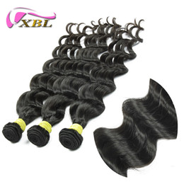 "Wholesale Wholesale Hair Pieces For Sale - Indian VirginHair Weaving,3Pcs Lot Loose Body VirginHair Bundles,Free shipping 12""-24""HumanHairExtensions For Sale"
