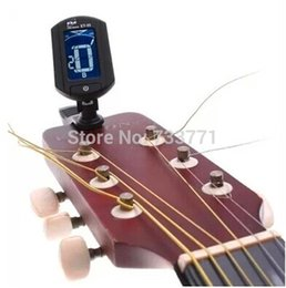 Wholesale Chromatic Music - ENO ET-33 Tuner for Guitar Ukulele Bass Violin Chromatic LCD clip-on Electronic Digital guitarra music instruments