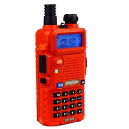 Wholesale Talkie Cheap - CHEAP Baofeng UV-5R 128 Channels VHF UHF Mini Handheld Walkie Talkie with High-gain Antenna
