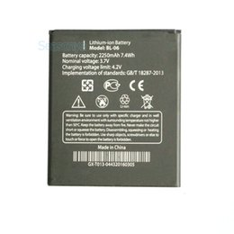 Wholesale Thl Batteries - 1x 2250mAh   7.4Wh BL-06 Replacement Li-ion Battery For THL T6s T6 Pro T6C