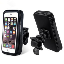 Wholesale Abs Gps - New Bike Accessory Cycling Waterproof Handlebar Bicycle Mount Holder Case for Mobile Phone GPS DHL Free