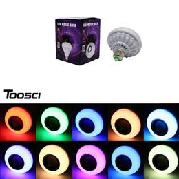 Wholesale Mini Bluetooth Speaker Ball - Led Bluetooth music ball bubble colorful lights change light bulb speaker lights Light Bulb Music Playing AudioK3 speaker