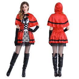 Wholesale Queen Show - DS nightclub role-playing take little red riding hood Halloween costume outfit queen of cosine witch Christmas show