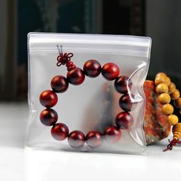Wholesale Jade Craft Jewelry - 150Pcs EVA Anti-oxidation Jewelry Packaging Plastic Poly Bag Transparent Matte Clear Zipper Ziplock Pearl Earring Jade Necklace