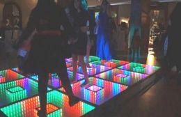 Wholesale Stage Floor Tile - LED dancing floor tiles induction floor tiles video floor lamp bar wedding induction stage factory direct sales