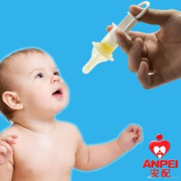 Wholesale Nipple Squeezing - Baby Squeeze Medicine Nipple With Needle 2016 anti choking water medicine feeder Teat