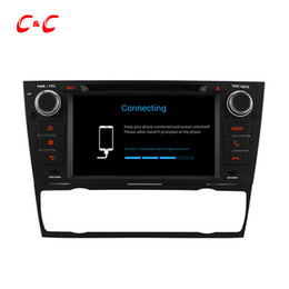 Wholesale Bmw Touch Screen Car Radio - Quad Core HD 1024*600 Android 5.1.1 Car DVD Play for BMW E90 with GPS Navigation Radio Wifi Mirror link DVR