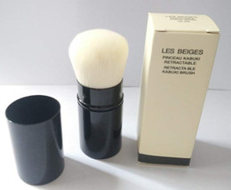 Wholesale cosmetic boxes packaging - single brush RETRACTABLE KABUKI BRUSH - Box Package - Beauty Cosmetics Makeup Brushes Blender 50pcs lot DHL Free Shipping
