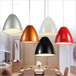 Wholesale Under Counter Led - New design Restaurant Pendant Lights Modern Brief E27 Base Lighting Single Bar Counter Lighting AC85-265V lighting fixture