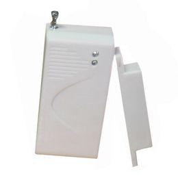 Wholesale 433mhz Alarm - 433mhz wireless door drawer magnetic sensor for personal home security gsm alarm panel sensitivity alarm detector
