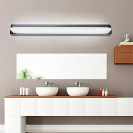 Wholesale Modern Wall Lamps Mirror - 9W 14W 16W 24W 30W LED Mirror Light AC 90-265V Modern Cosmetic Acrylic Wall lamp Bathroom Lighting Waterproof Fog-proof For Bathroom Bedroom