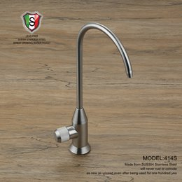 Wholesale Filter Filtration - Wholesale- Viborg 304 Stainless Steel Lead-free Kitchen Filtered Drinking Water Filter Faucet Filtration System Purifier Tap Satin Nickel