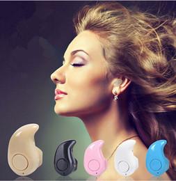заказ наушников Скидка Универсальная мини беспроводная Bluetooth-гарнитура S530 In-Ear V4.1 Stealth наушники-гарнитура для телефона с микрофоном Handfree с коробкой