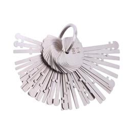 Desbloquear herramientas online-KLOM Warded Lock Pick Set 40 Llaves Llave de esqueleto Probar teclas Desbloquear Herramientas para cerrajeros profesionales